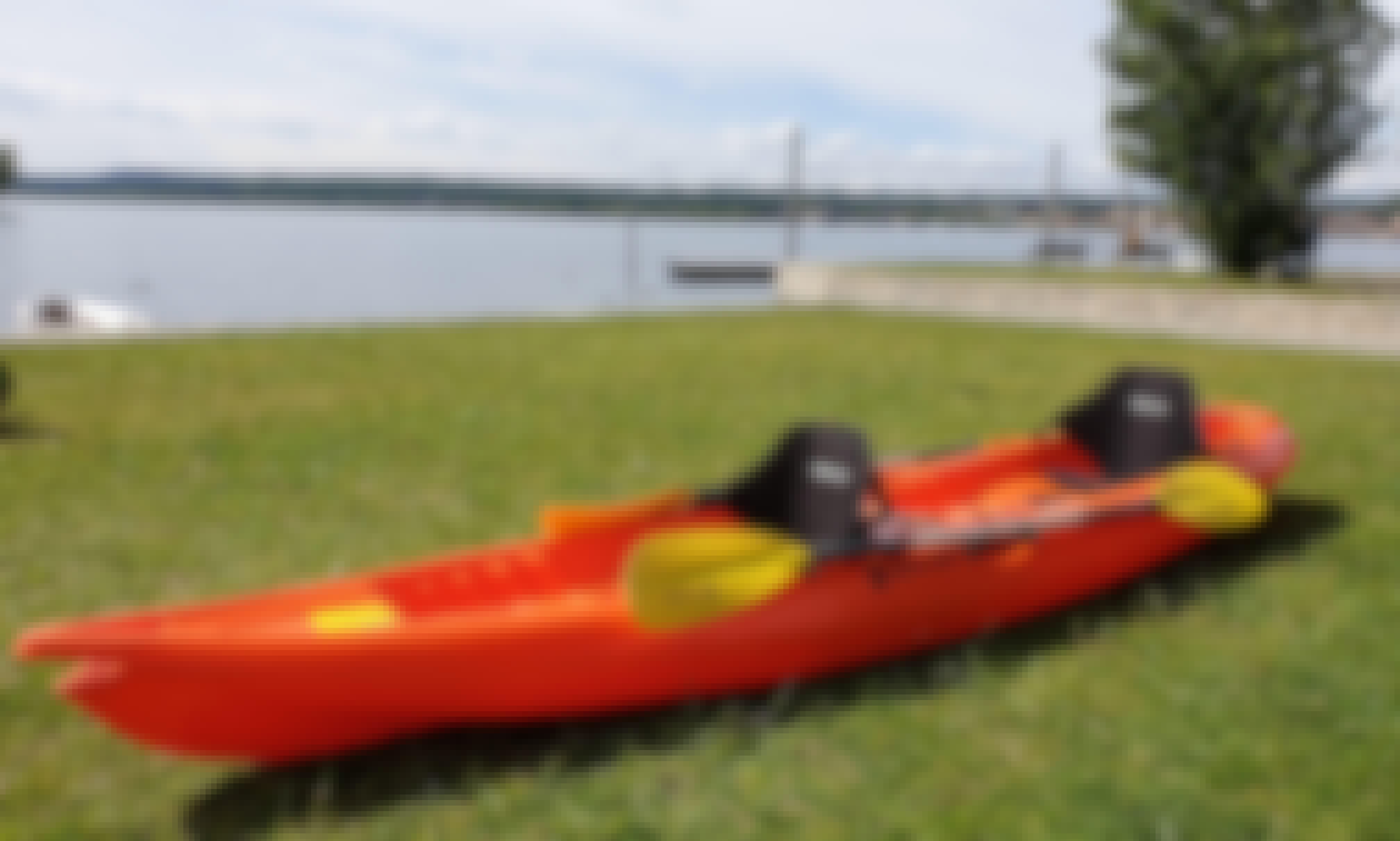 Rent 2-Seater Kayak in Lago Maggiore (Near Milan)