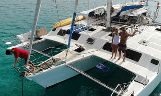 Shared Charter onboard 56' Cruising Trimaran to San Blas Islands with Laurent and Clarinda!