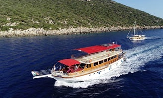 Daily Boat Tour to the Myterious Sunken City of Kekova from Kas Harbor!