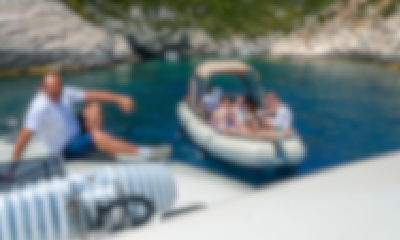 Baracuda Shark BF 23 RIB - Boat Rental or Water Taxi in Split