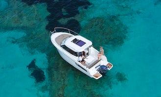 Merry Fisher 695 for Rent in Marina,Trogir-Croatia