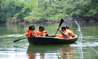 Round Boat Ride on Meenachil River in Kottayam
