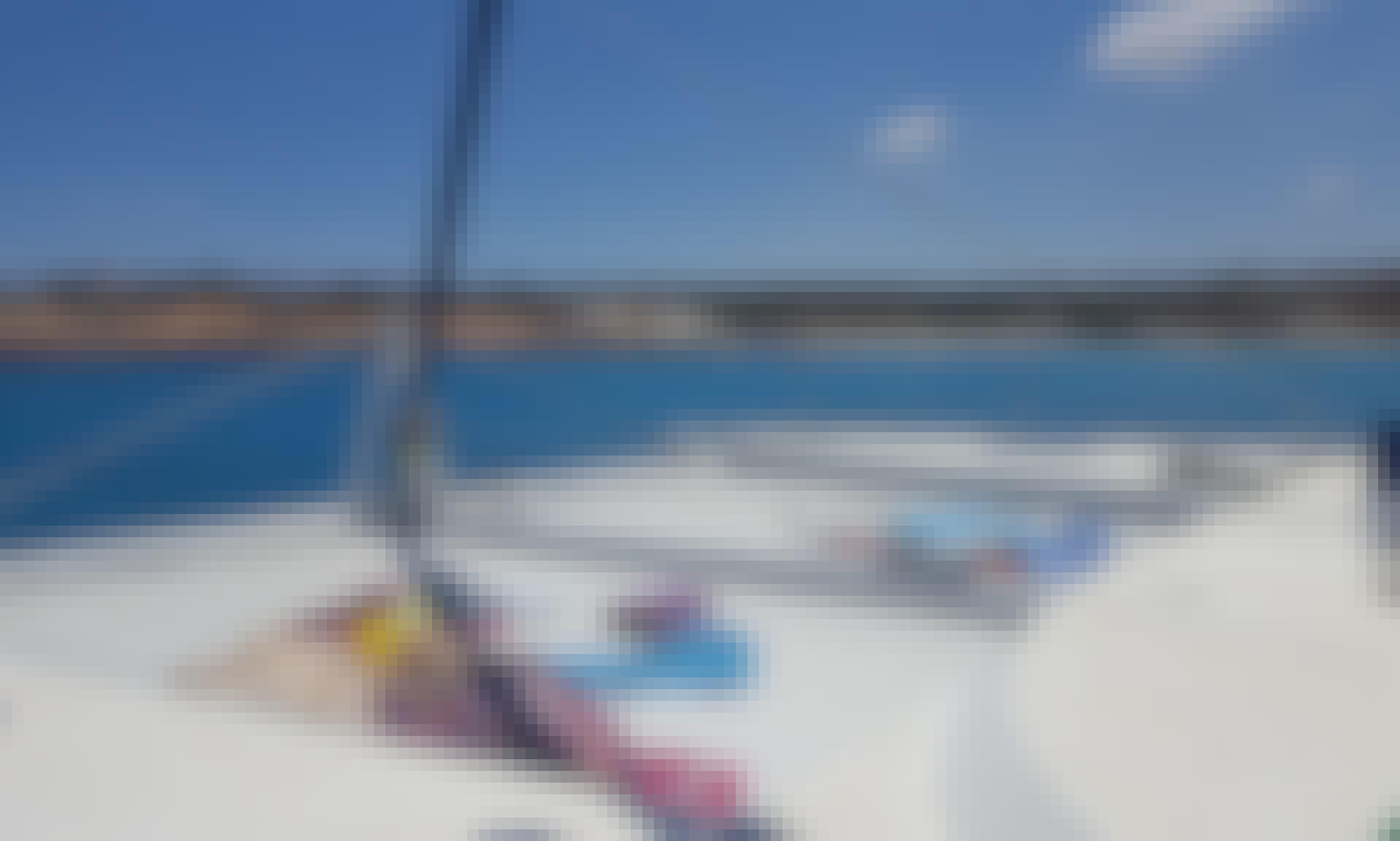 Charter 56' Sailing Catamaran in San Ġiljan, Malta