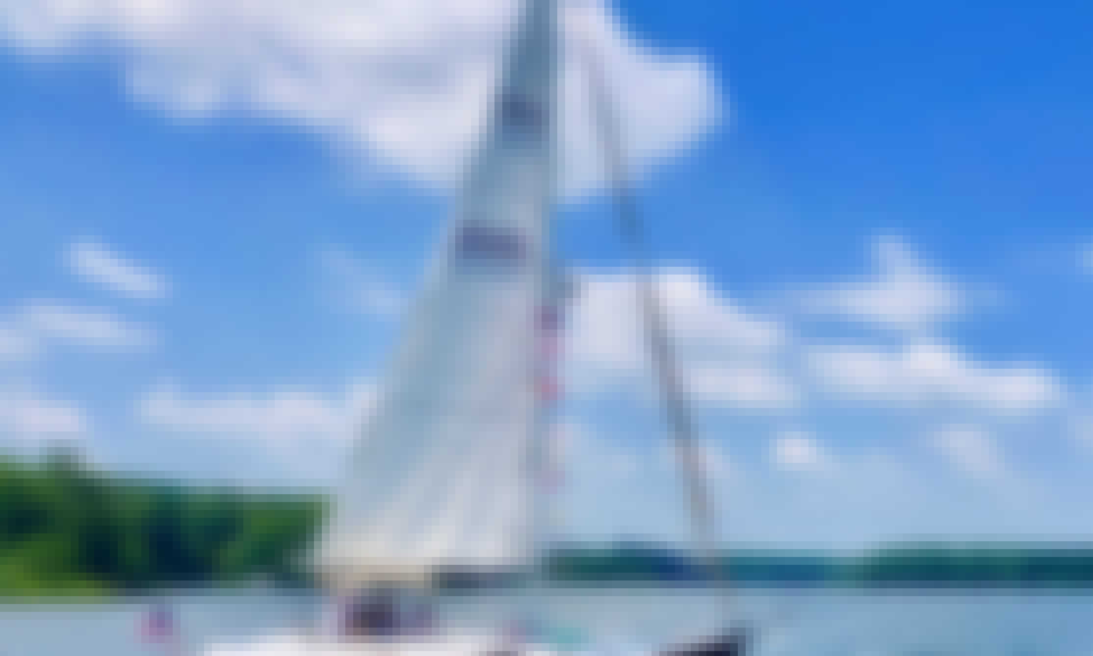 43' Sailboat Cruises in Chesapeake Bay, Annapolis MD