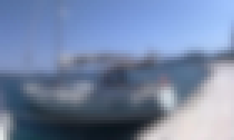 """""""Aquila"""" Jeanneau S.O. 449 Cruising Monohull Rental in Corfu, Greece"""