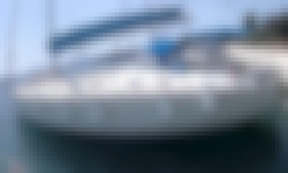 """""""Amethyst"""" Beneteau Cyclades 50.5 Sailing Yacht Rental in Corfu, Greece"""