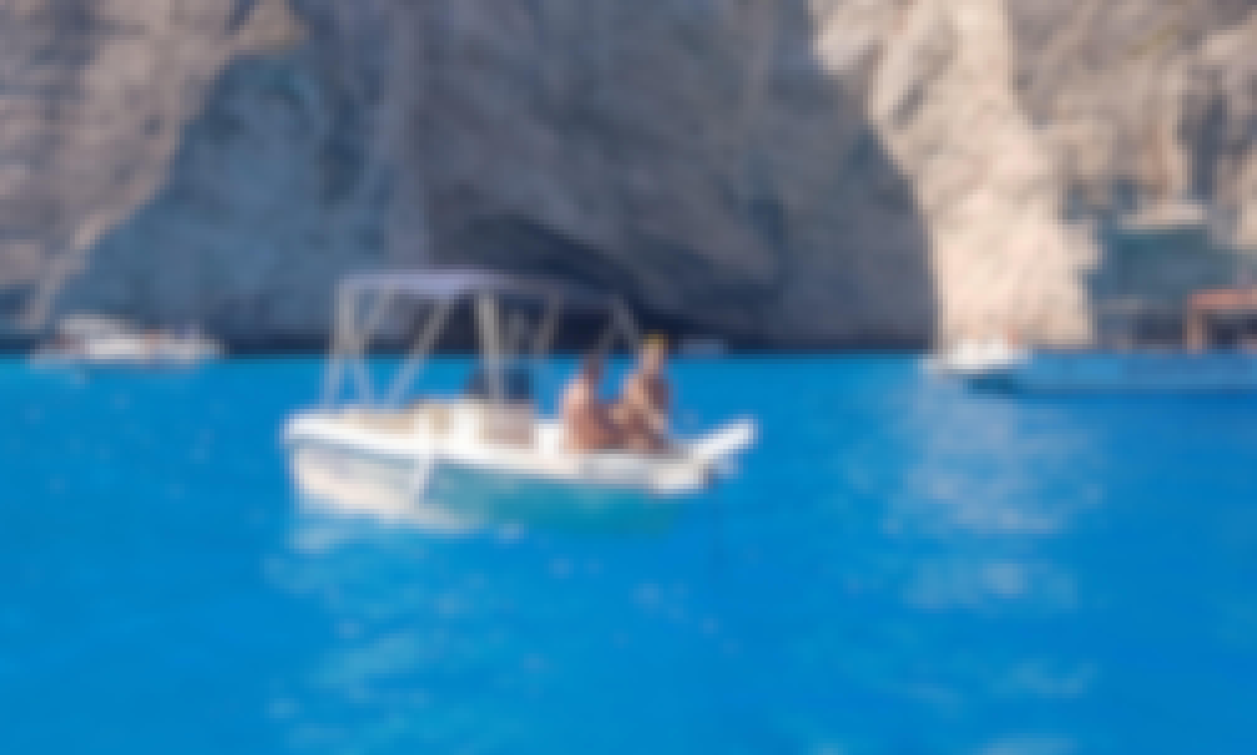 Boat Rental with Bimini Top in Zakinthos