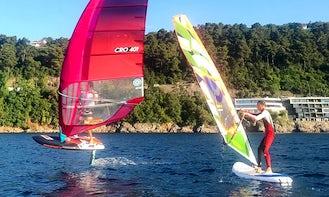 Learn to Windsurf in Opatija, Croatia