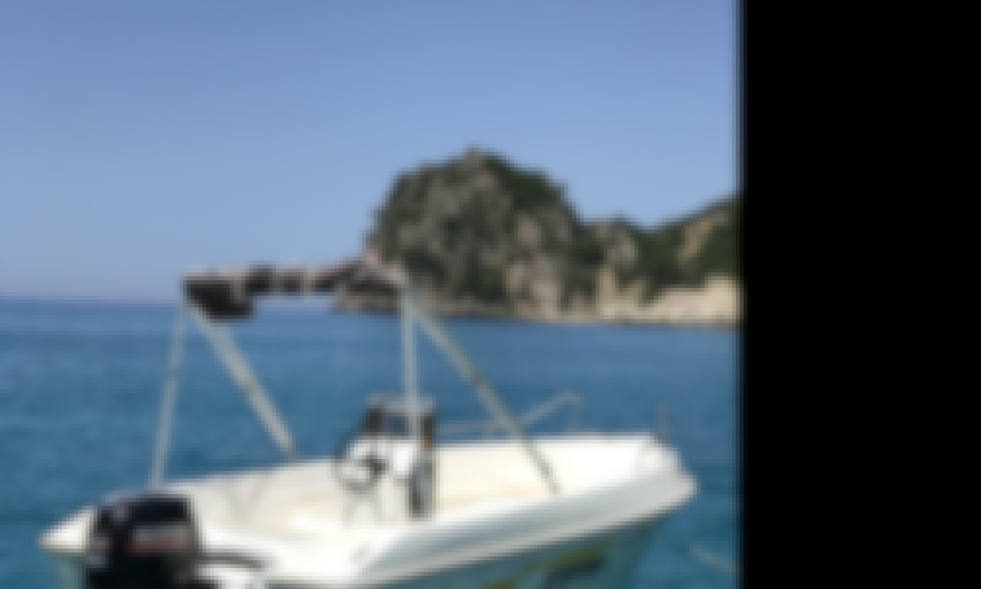 Rent aquastar boat in Ermones, Greece