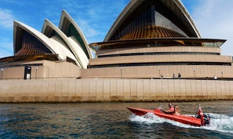 Highlight Tour! 2-Hour Guided Self Drive Boat Tour on Sydney Harbour