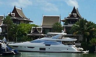 "Crewed Charter the ""Mirage"" Azimut 80 Power Mega Yacht in Tambon Ko Kaeo, Chang Wat Phuket"