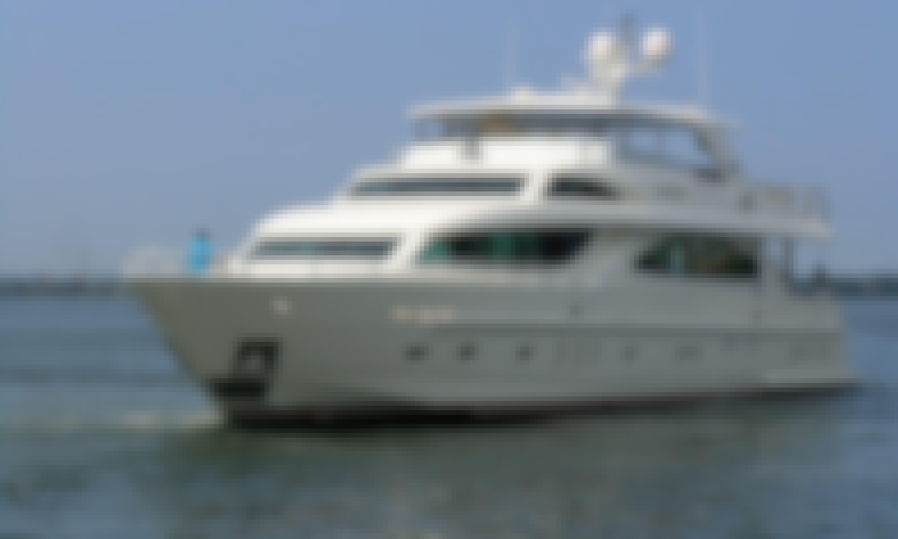 "92' Custom Motor Yacht ""Lady Eileen II"" in Mai Khao, Phuket"