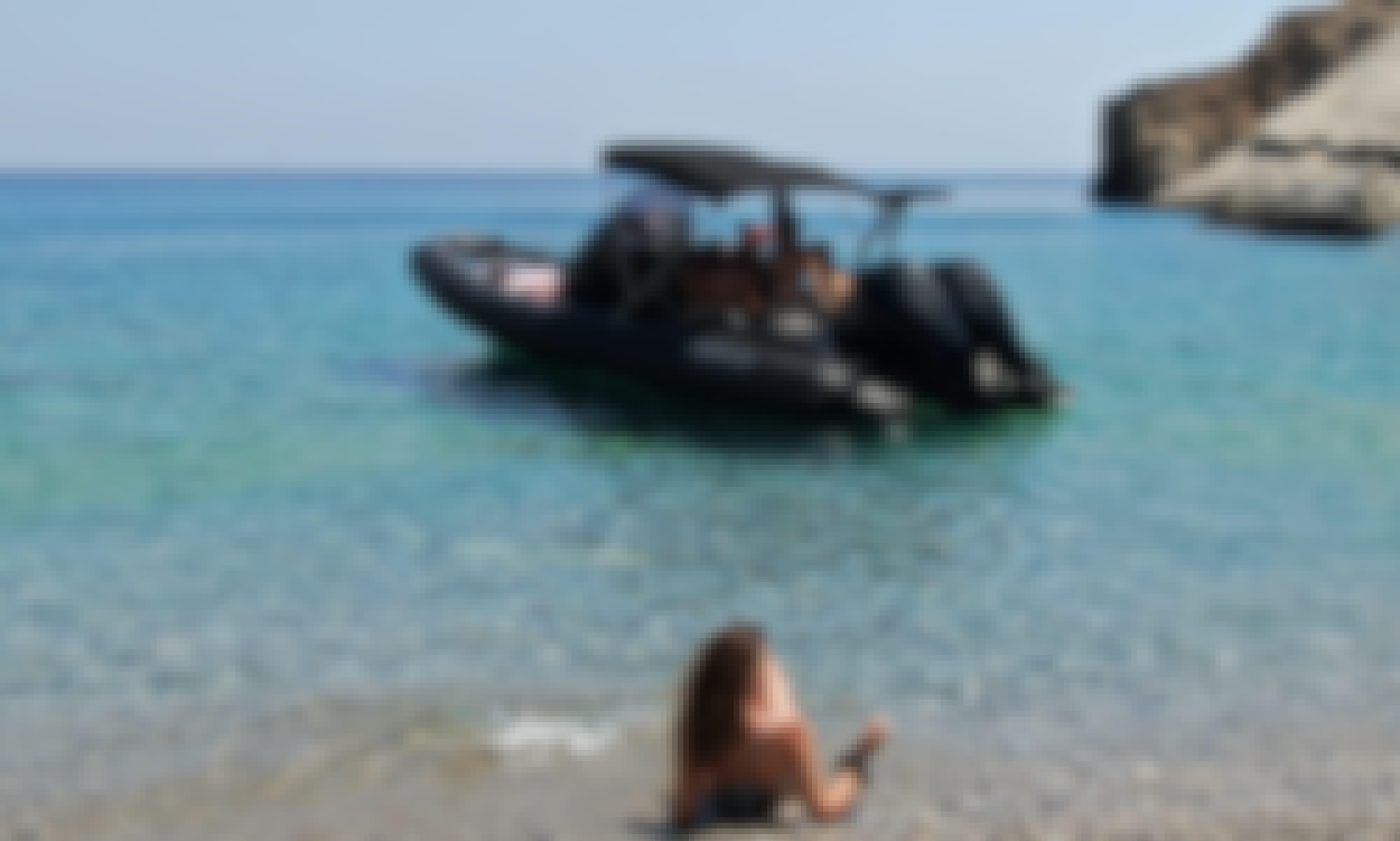 Hire the Grand 8.50 RIB in Paros, Greece