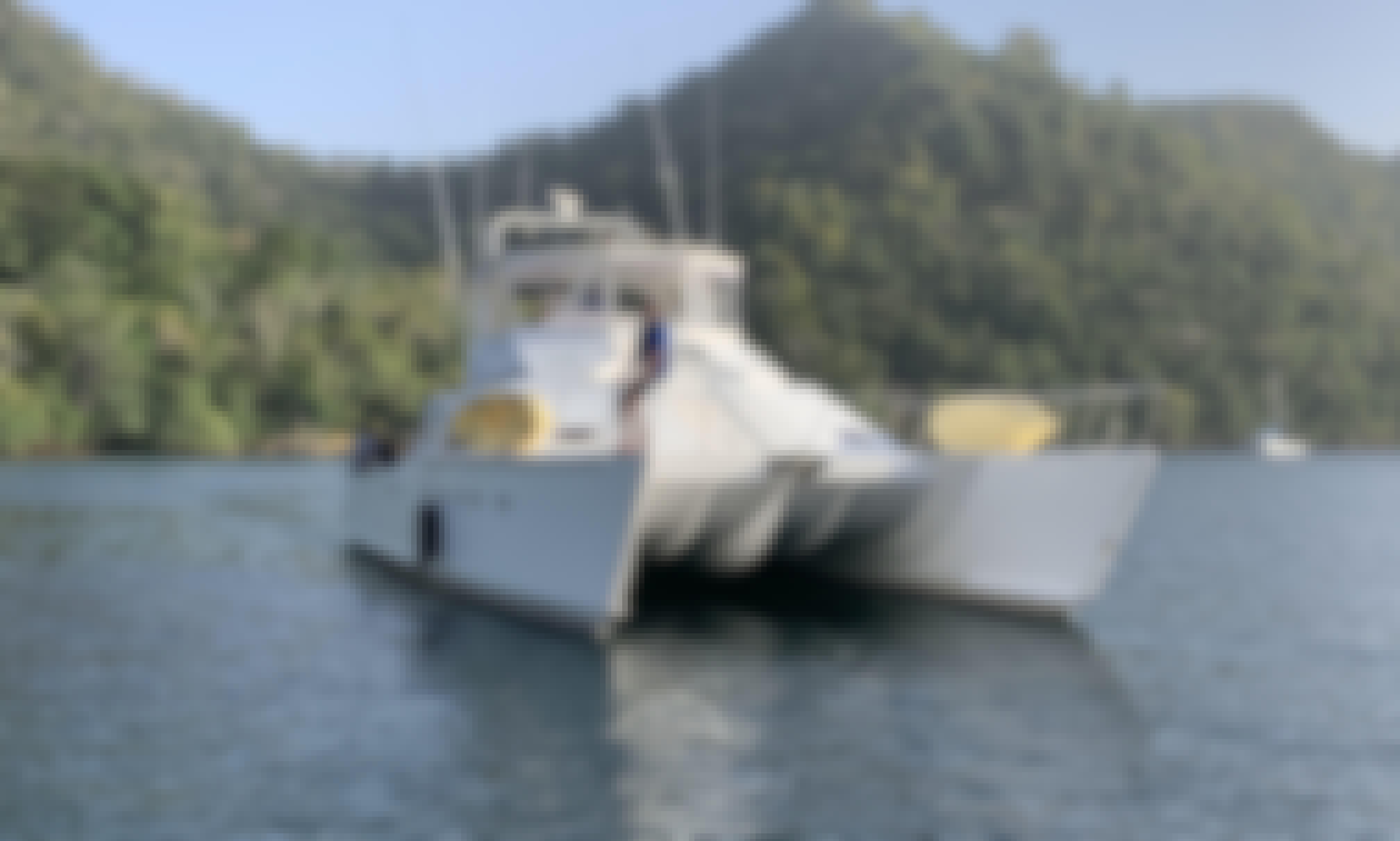 Catamaran Cruise in Point Gourde, Trinidad and Tobago