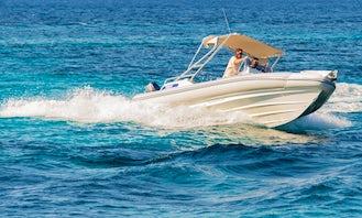 Charter 28' Skipper 4U Family Rigid Inflatable Boat in Paros, Greece