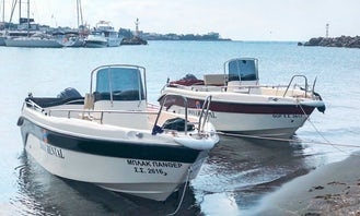 """Hire Blu Water 170 """"Thor"""" Powerboat in Vlichada - Without License"""