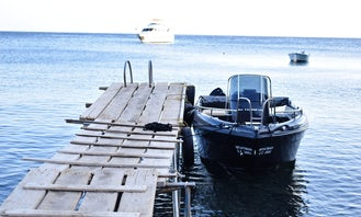 """Hire """"Batman"""" Boat with 30hp Yamaha Engine – Without License in Vlichada"""