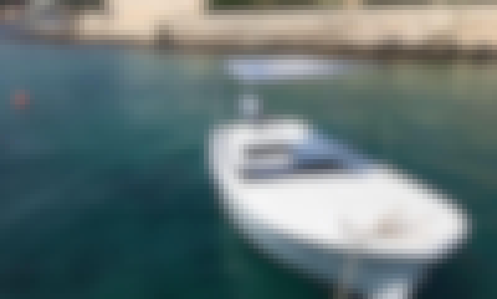 Rent a 10hp dinghy boat-perfect for exploring Pakleni islands of Hvar