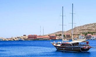 Maris 75 Luxury Gulet in Rodos, Greece