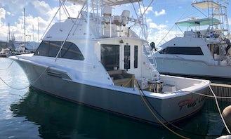 46ft Bertram Fishing Yacht Charter in San Juan, Puerto Rico