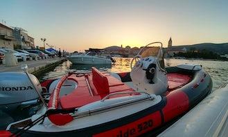 Hire the Jokerboat Wide 520 + Honda 100hp in Trogir, Splitsko-dalmatinska županija