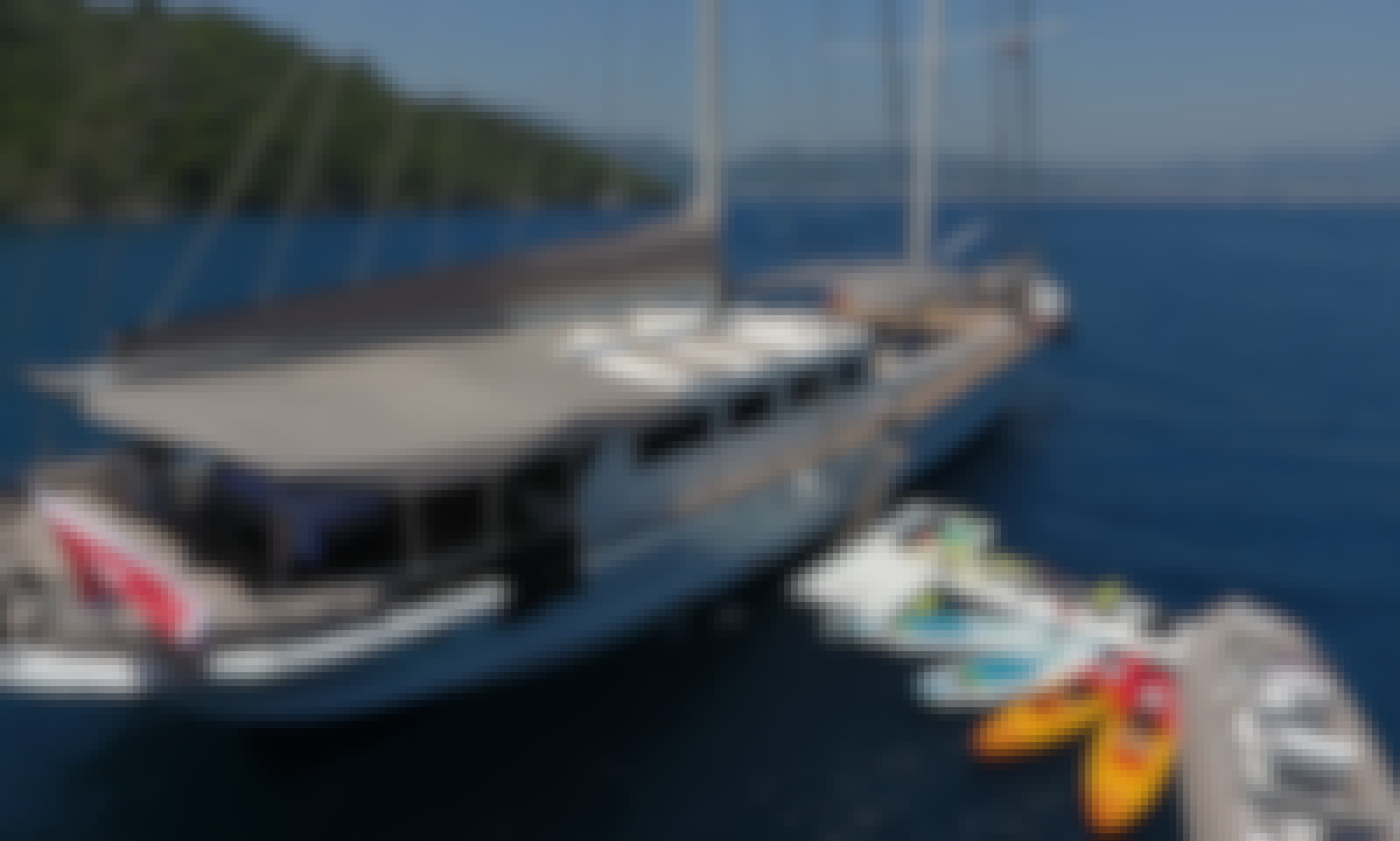 Charter this 124' Sailing Gulet with Luxury Full Equipment in Marmaris - Sterilized Boat with Health Check Crew