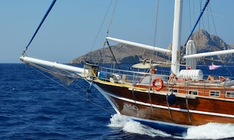 ALL INCLUSIVE - FULL CREWED GULET / RHODES GREECE