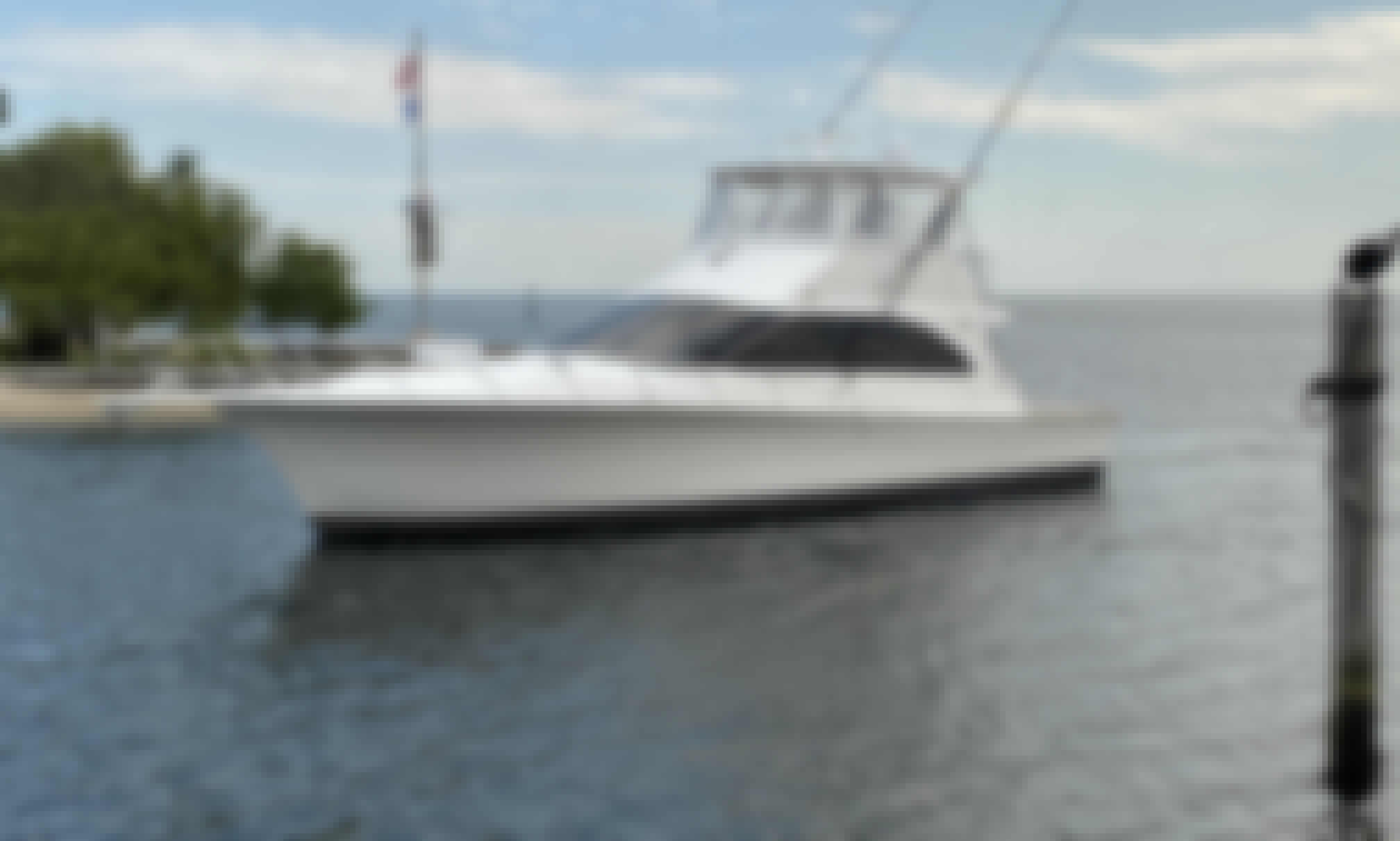 Beautiful 48ft Ocean Sportfisher Yacht for charter in Miami, Florida
