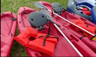 One-Person Kayak for Rent in Fallsburg, Kentucky