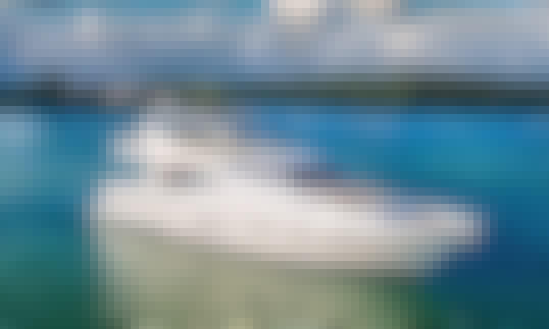 73' Ferretti Z Yacht Charter in Mikonos, Greece
