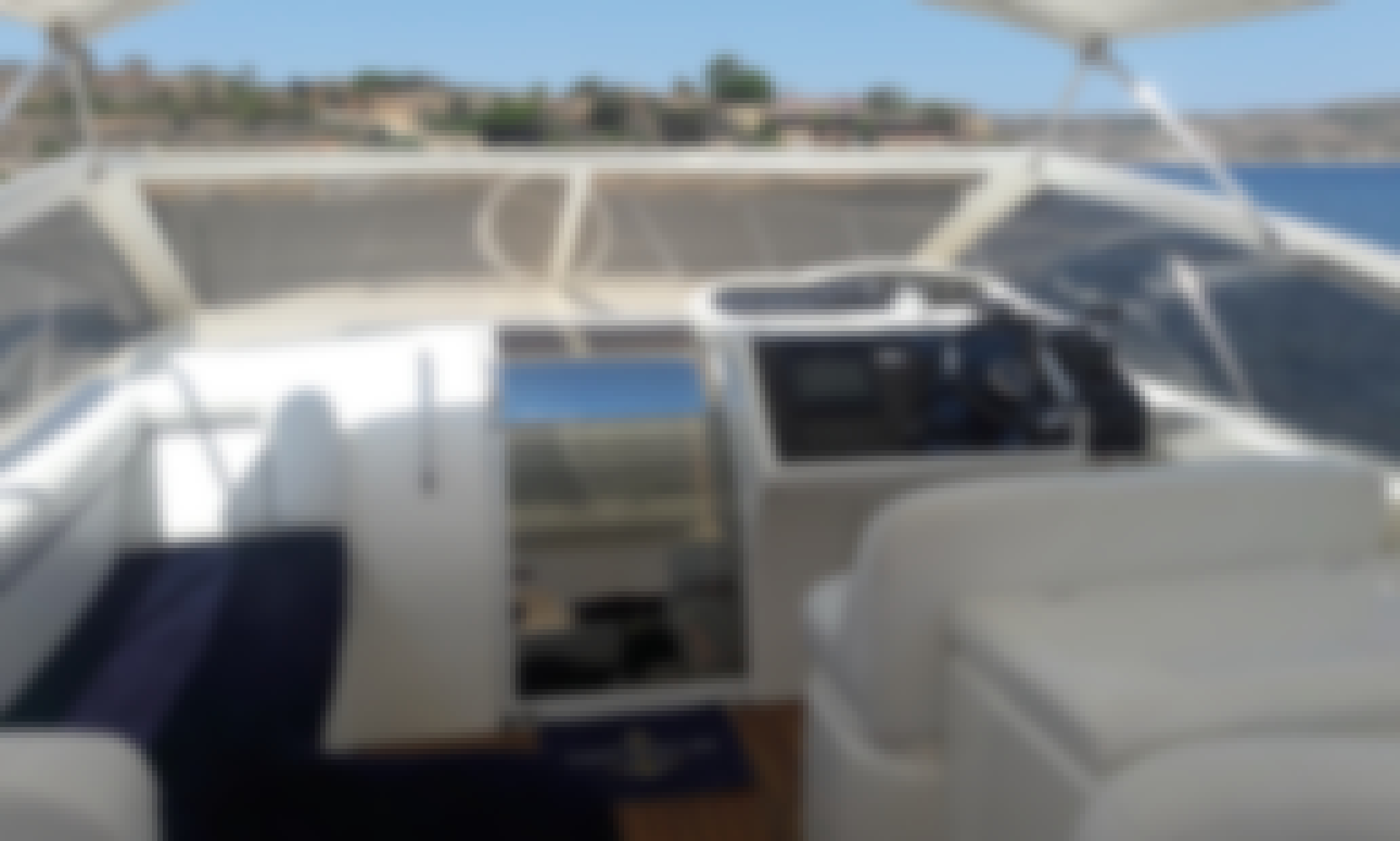 Princess V42 Motor Yacht Charter in San Ġiljan - With or without skipper!