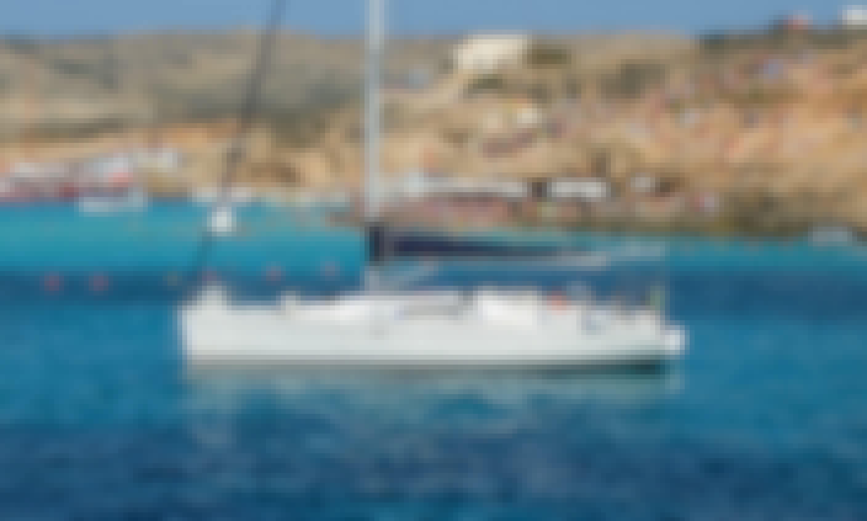 Elan 410 Sailing Yacht Rental in San Ġiljan, Malta