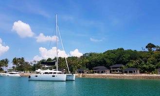 Lagoon 450 Memorable Cruising Experience in Singapore Strait!