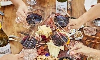 Wine Tasting on Board in Thessaloniki, Greece