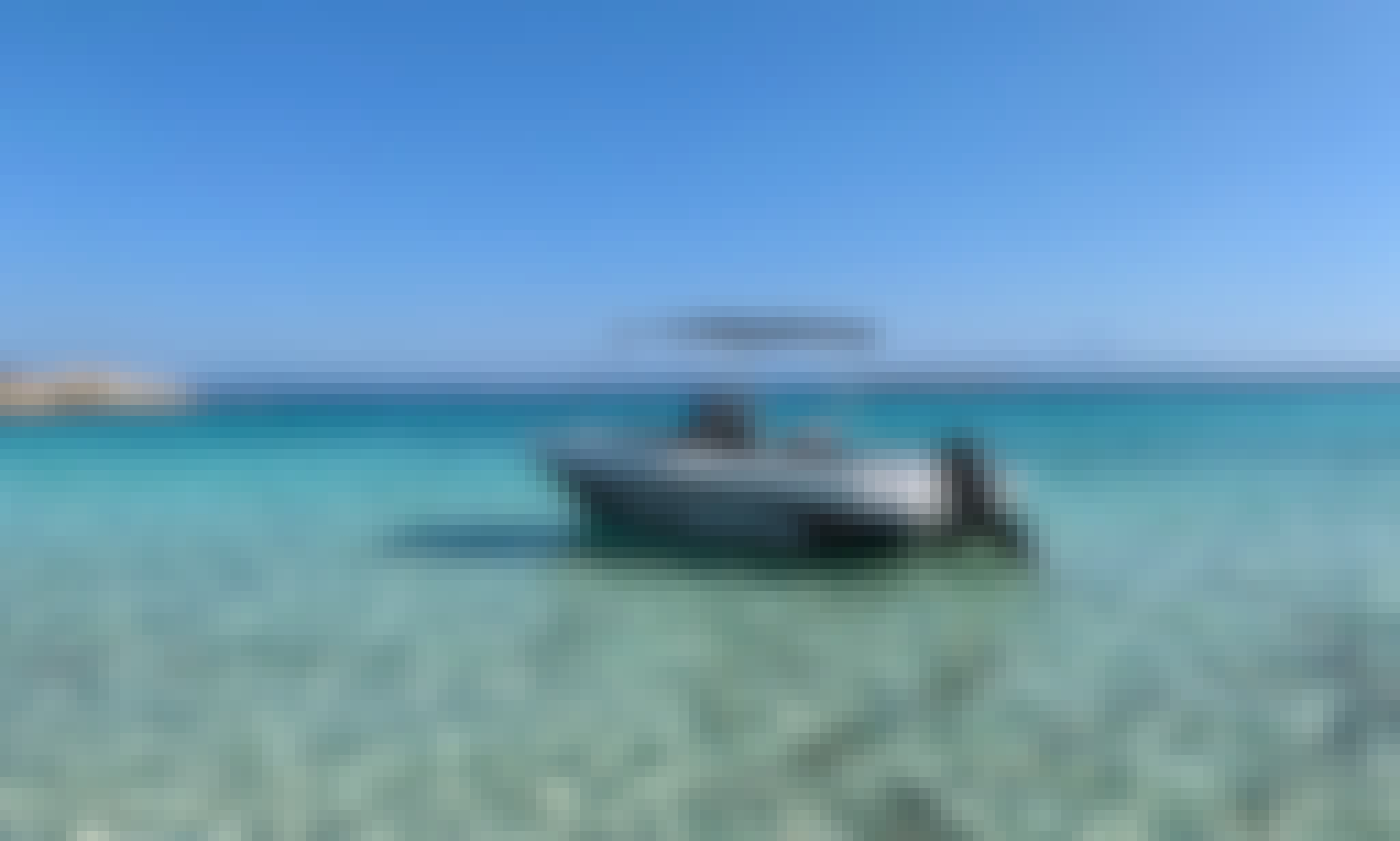 PowerBoat for 8 in Chalkidiki