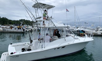 32' Luhrs, Three Brothers, Offshore Fishing & Inshore Fishing Tour, Quepos, Costa Rica