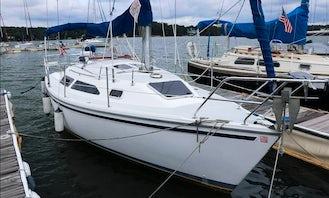 Private Sailing Catalina 270 Sailboat for 2 People in Marina del Rey, California