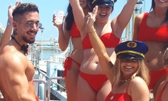 Marbella Boat Party Golden Package!