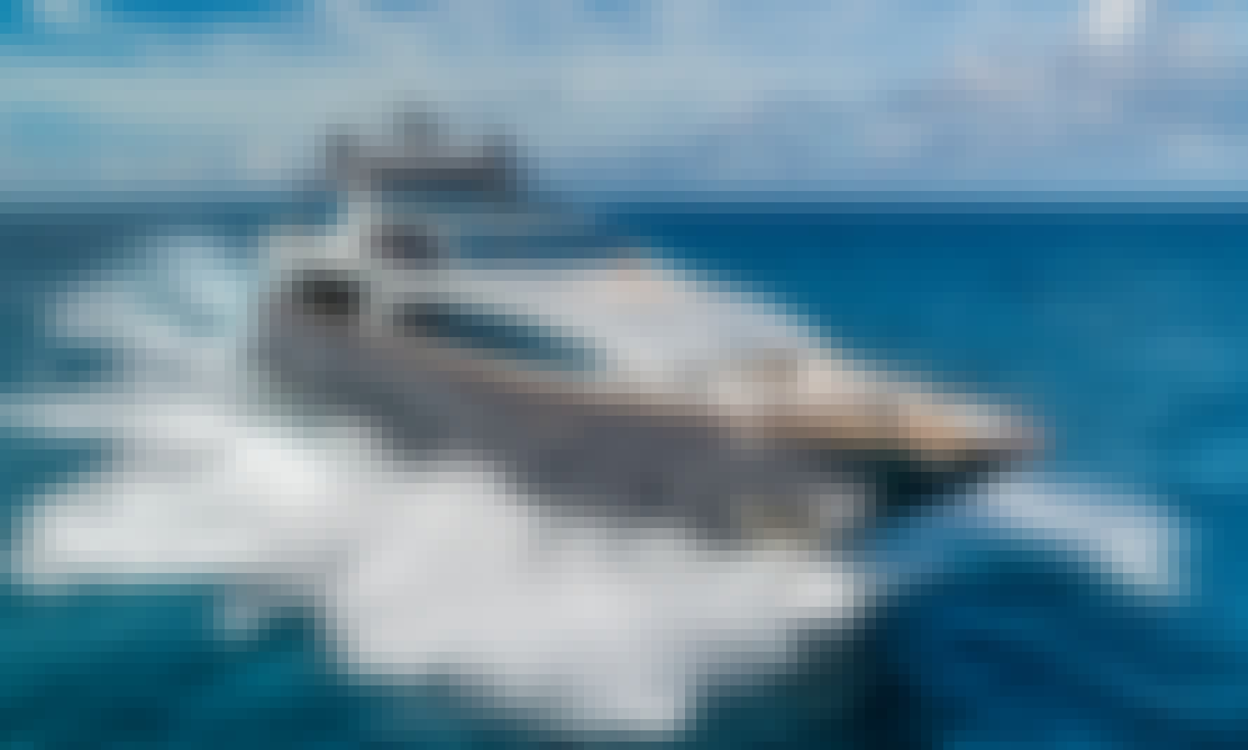 116ft Azimut- Luxury Private Yacht- Six Crew- 32ft Scout tender included