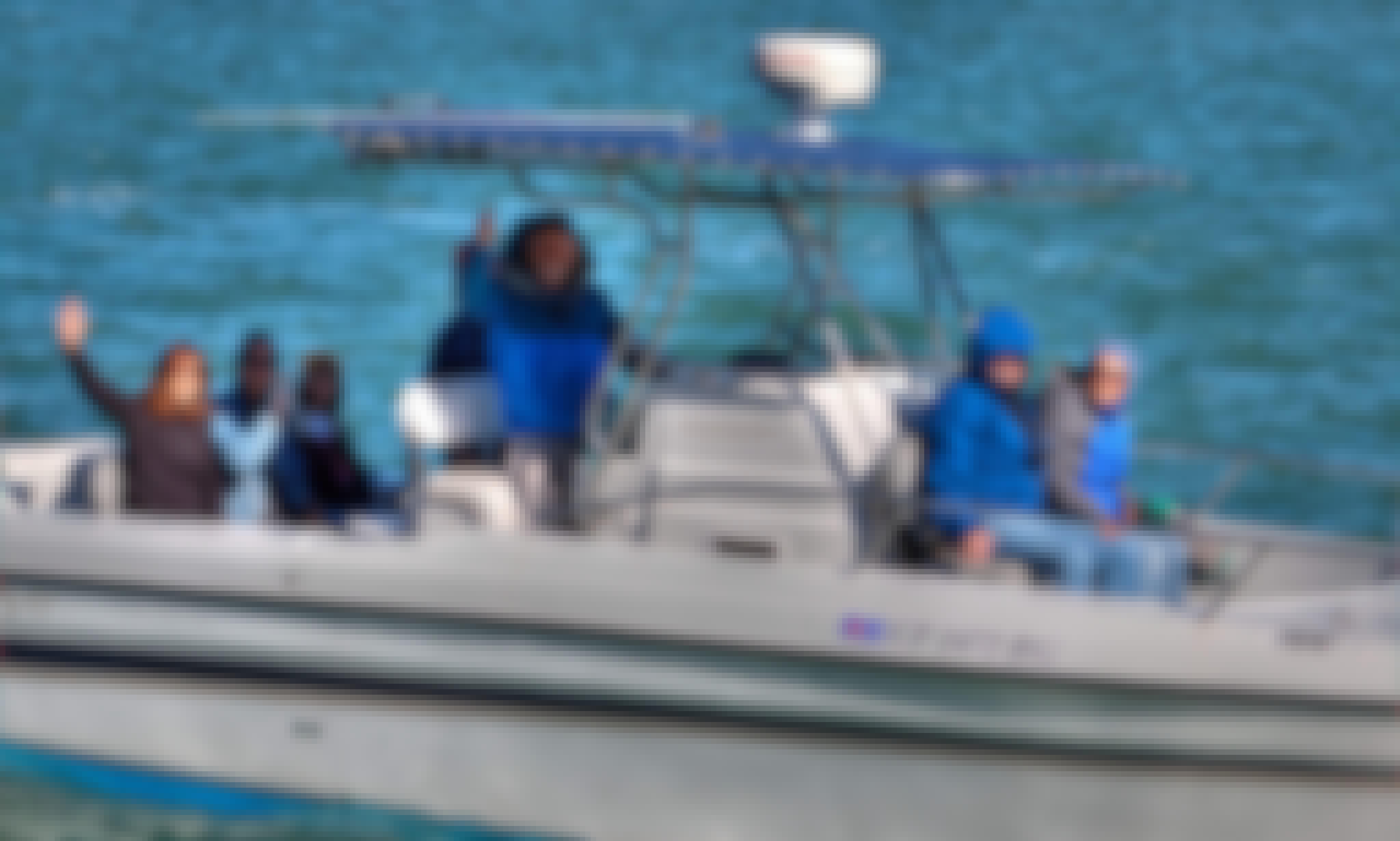 28 ft Power catamaran