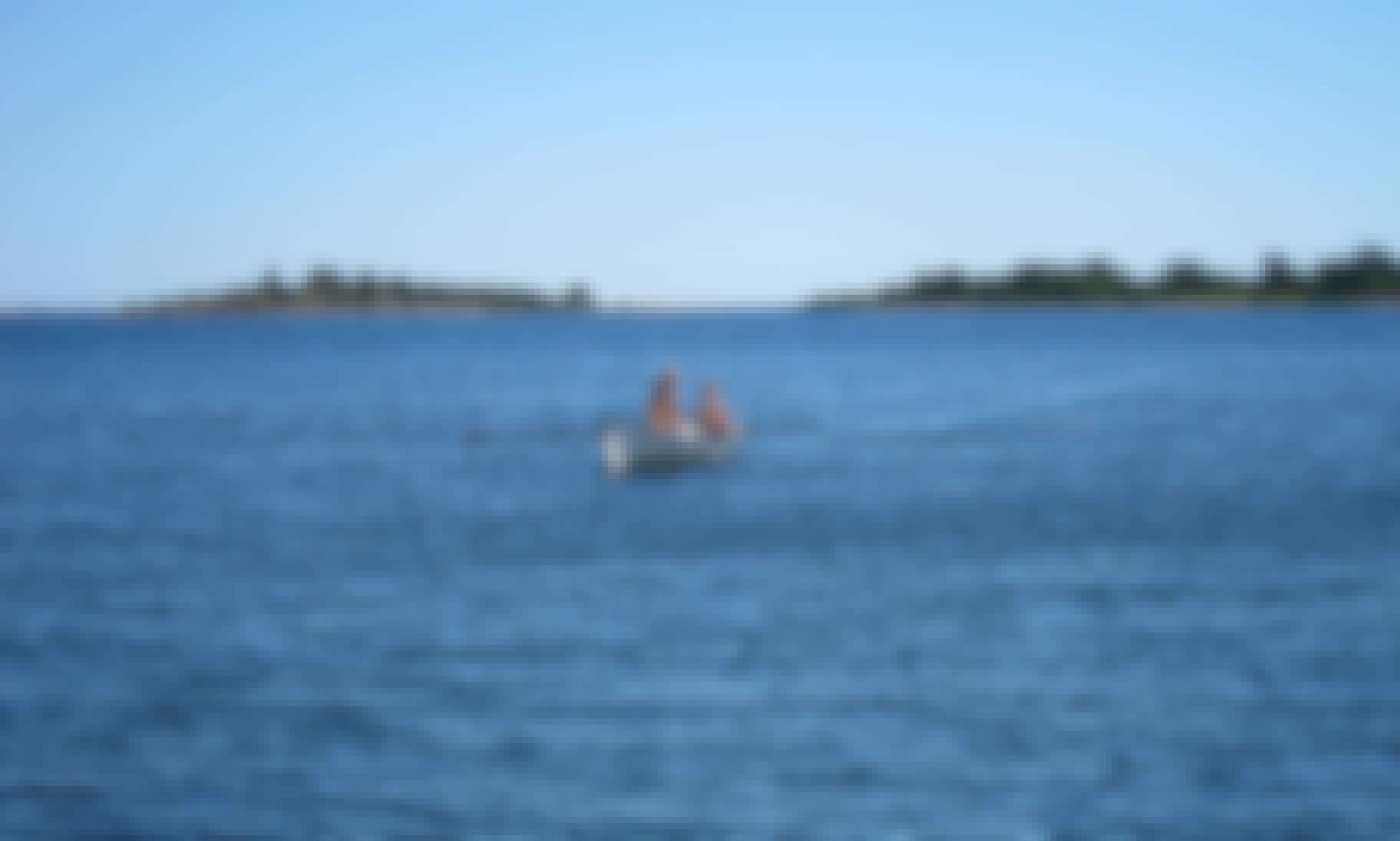 Rowing boat/ skif for rent in Southern Sweden, Agunnaryd lake