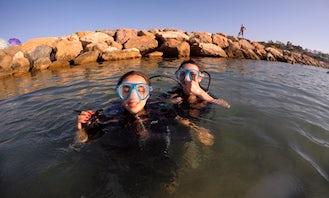 First Dive in Salou