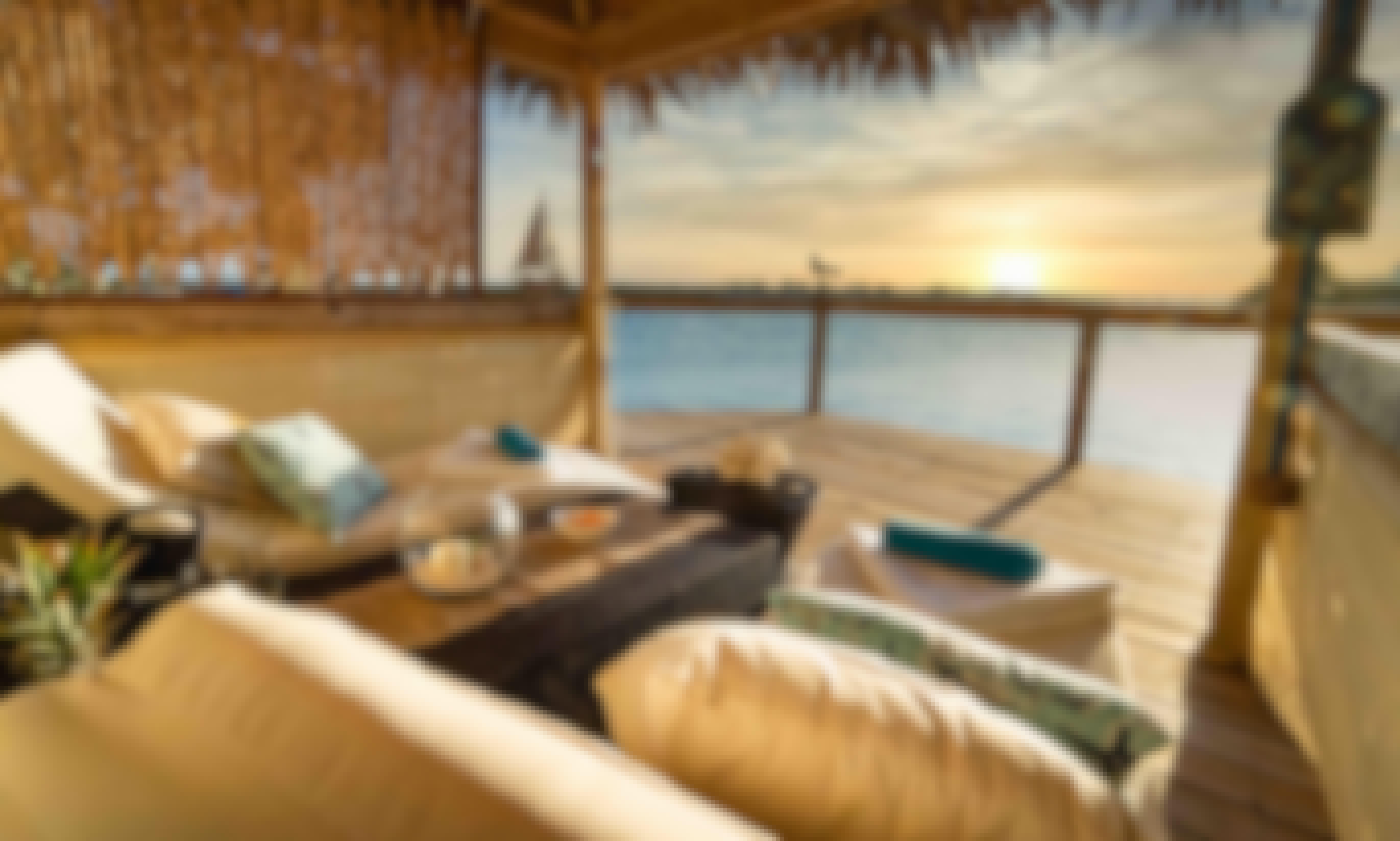 Private Ocean View Cabana at Pearl Island Bahamas