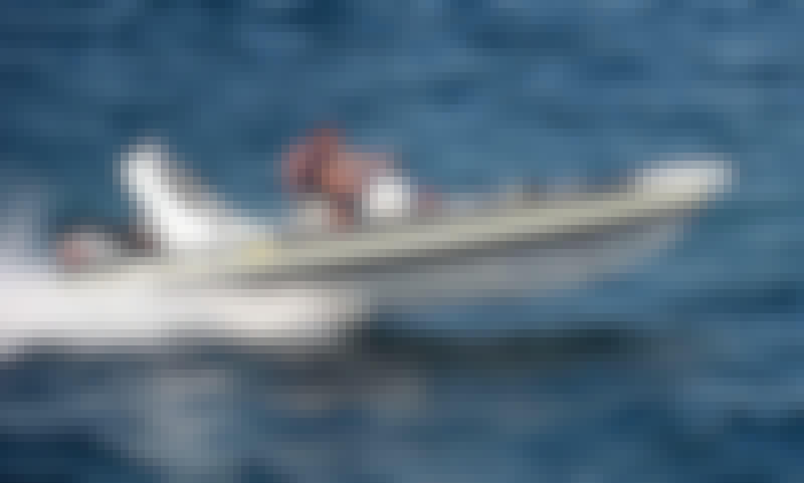 Topline Pegasus 23 Sport Rib in Platis Gialos! Rent a boat for Private Cruises