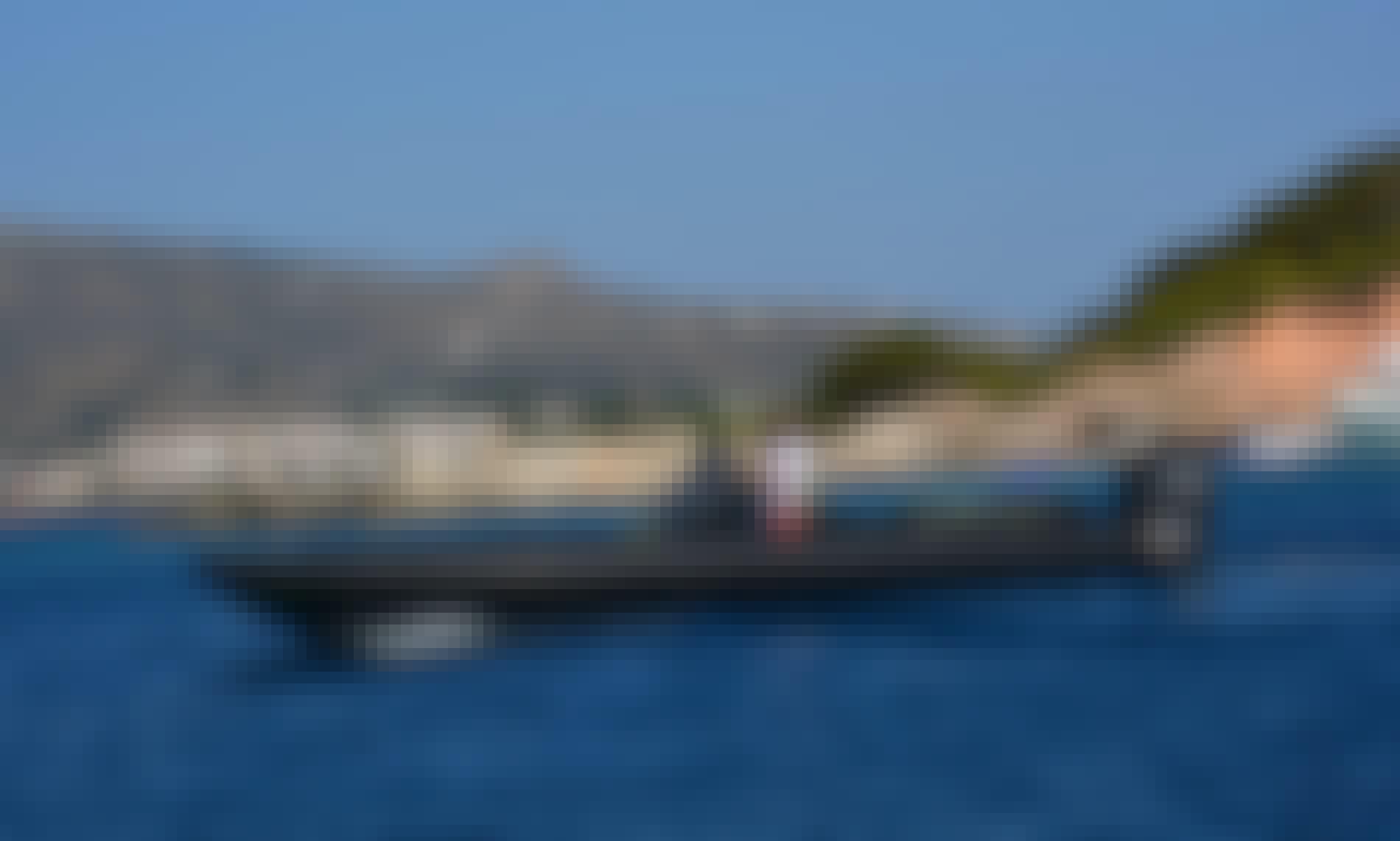 Hire Technohull GT 37 RIB with 2x300 Hp Verado Outboard in Elliniko, Greece!