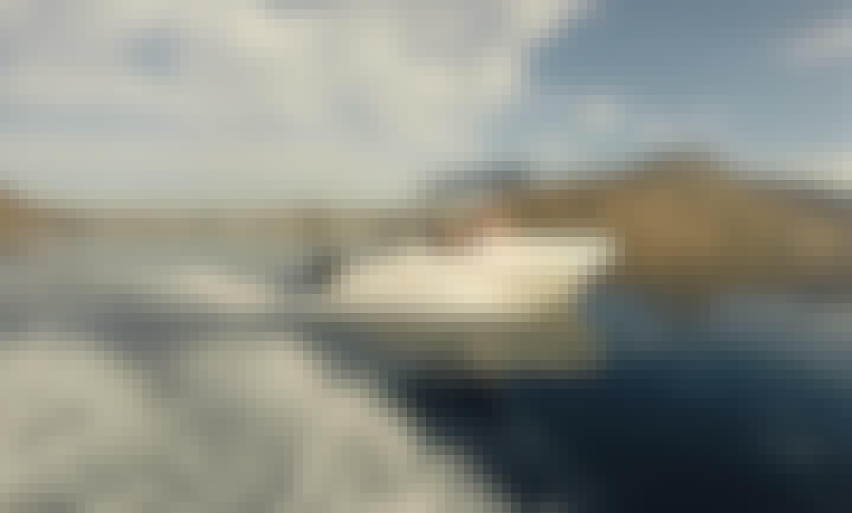 Proteus Pegasus 495 Powerboat (30 Hp Outboard) in Lardos Beach, Lindos Region
