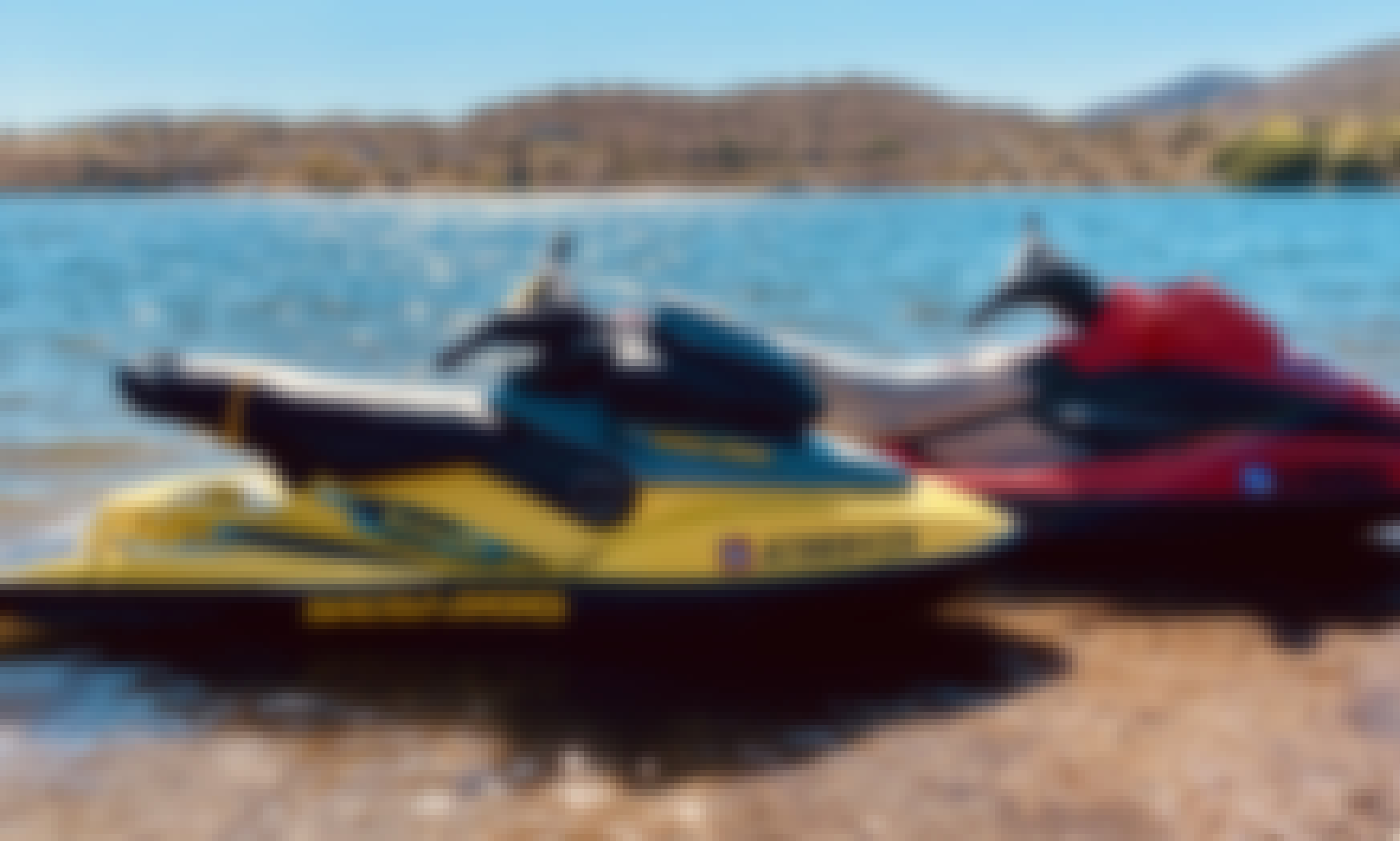 Rock 🎸 Ride Jet Skis in Phoenix, Arizona!
