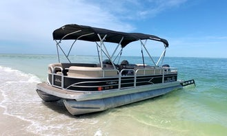 SunTracker Pontoon Boat Rental in Cape Coral and Surrounding Areas