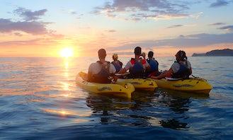 Sunset Paddle Kayak or SUP in Playa Samara