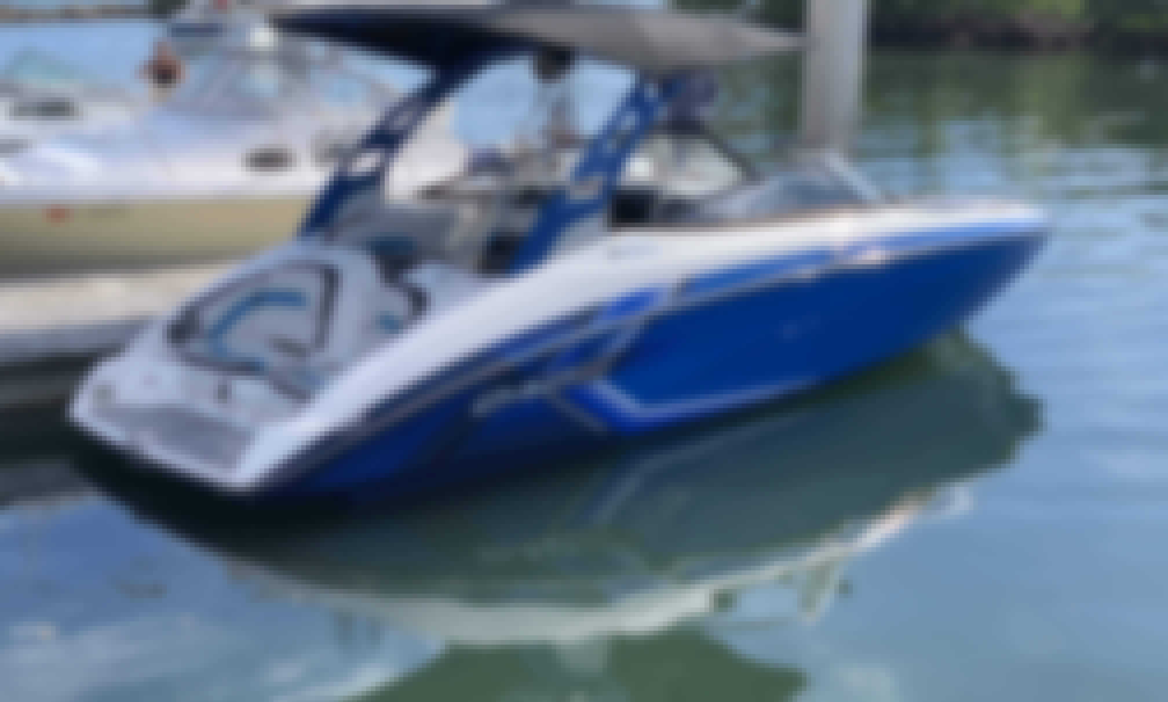 Yamaha 242x E-Series Bowrider - Delivered to a Boat Ramp near You!